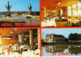 CP.  45. BRIARE.  HOTEL  RESTAURANT  LE  CANAL - Briare