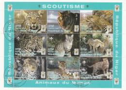 Niger  Minipliego USADO Nº 3 - Colecciones (en álbumes)