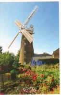 Postcard - Woodbridge Buttrums Windmill, Suffolk. BT1 - Molinos De Viento