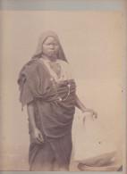 Old Photo - J P Sebah - Negresse - Dédicacées