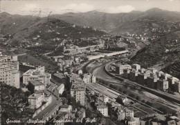 GENOVA - STAGLIENO - PANORAMA DAL RIGHI .....F - Genova