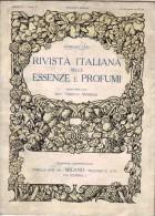 Rivista Italiana Delle Essenze E Profumi - Anno II - N°2 - Février 1920 - Parfum - Huiles Essentielle - TRES RARE - Health & Beauty