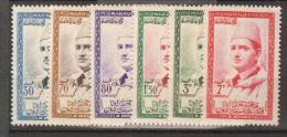 MAROC     1957          N°   490 / 495      COTE     10 € 00           ( Y 416 ) - Spanish Morocco