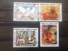 Comoren - Serie Pablo Picasso 1981 - Comoren (1975-...)