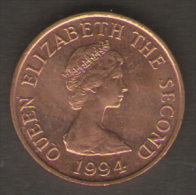 JERSEY ONE PENNY 1994 - Jersey
