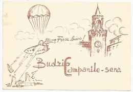 Budrio, 4.8.1960. Televisione, Mike Bongiorno. Pubblicitaria Della Trasmissione Campanile Sera. - Bologna