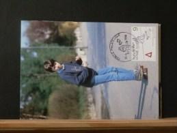 54/708   MAXI CARTE  BELGE - Skateboard
