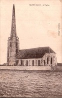 60 MONTAGNY L'EGLISE CIRCULEE 1918 - France