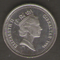 GIBILTERRA 5 PENCE 1996 - Gibraltar