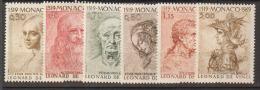 MONACO     1969                 N°   799 / 804      COTE     9 € 00           ( Y 429 ) - Monaco