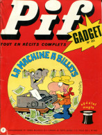 Pif Gadget N°213 (Vaillant 1451) BD Teddy Ted Et BD Dr Justice - Pif Gadget