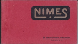 CARNET  DE  24  CPA  DE  NIMES - 5 - 99 Cartes