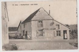 CPA JOUY Moulins-Neufs Café COLIN - Jouy