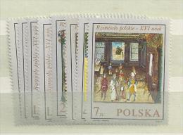 1969 MNH Poland, Polen, Pologne, Postfris - Nuevos