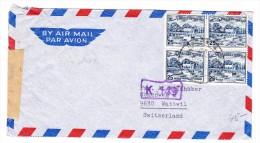 Pakistan Flugpost Brief 7.1.19?? Nach Wattwil - Pakistan