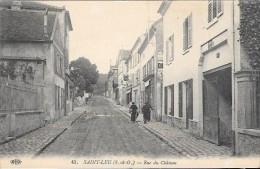 43 - Saint Leu - Rue Du Chateau ( Inédite Ainnsi Sur Delcampe ) Ray59 - Saint Leu La Foret