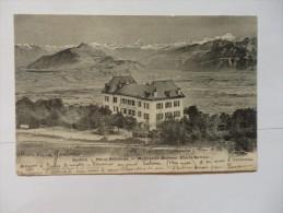 Salève, Hôtel Bellevue, Monnetier-Mornex. - Chamonix-Mont-Blanc