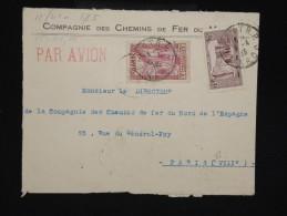 FRANCE - MAROC  - Enveloppe Commerciale De Rabat Pour Paris En 1935 -  à Voir - Lot P9176 - Briefe U. Dokumente