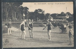 CPA 95 - L'Isle-Adam, La Plage - Un Peu De Sport - L'Isle Adam