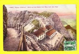* Luzern - Lucerne (Suisse - Switserland - Schweiz) * (Photoglob) Pilatus, Blick Auf Die Hotels Vom Weg Nach Dem Esel - LU Lucerne