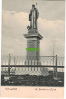 Carte Postale Ancienne De SUISSE – EINSIEDELN – ST. BENEDICTUS-STATUE - SZ Schwyz