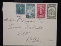 VENEZUELA - Enveloppe De La Guaira Pour La Belgique En 1940 Avec Propagande Sur Le Café Au Verso -  à Voir - Lot P9183 - Venezuela