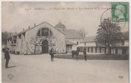 CPA RODEZ Le Dépôt Des Haras , Les écuries Et Le Manège - Rodez