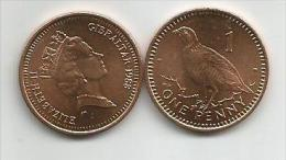 Gibraltar 1 Penny 1988. UNC/AUNC - Gibraltar