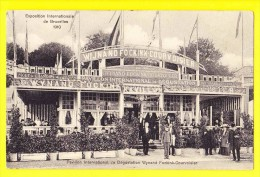 * Brussel - Bruxelles - Brussels * (Ed Photo Cie Belge - A 9980 10) Expo 1910, Pavillon Dégustation Wynand Fockink, TOP - Exposiciones Universales