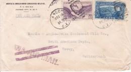 Canal Zone, CANAL DE PANAMA, ANCON, LETTRE DE 1916  ( 15060/14) - Central America