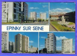 Carte Postale 93. Epinay-sur-Seine  Les HLM  Trés Beau Plan - France