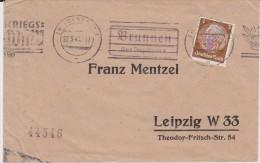 DR 3 Reich Mi 513 Landpost Stempel Brunnen ü Ingolstadt Bf 1941 - Brieven En Documenten