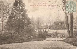 Reims - Jardin De La Patte D'Oie - Le Kiosque - Reims