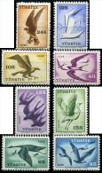 TURKEY 1959 (**) - Mi. 1660-67, Airmail Stamps - Airmail