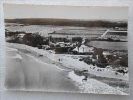 CP 85  ST SAINT VINCENT Sur JARD Vers Jard Sur Mer Vue Générale Vestiges De La Guerre Sur La Plage Blockhaus Croix Métal - Francia