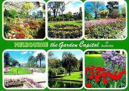 MELBOURNE     H27     6 Views , The Garden Capital Of Australia - Melbourne