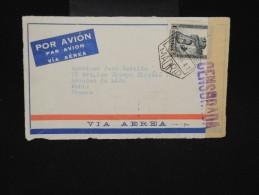 ESPAGNE - Enveloppe ( Devant ) De Madrid Avec Censure Pour Paris En 1936 - à Voir - Lot P9216 - Marcas De Censura Nacional