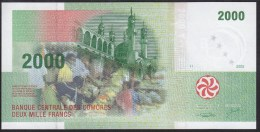 Comoros 2000 Francs 2005 P17 UNC - Comoren