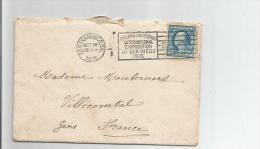 LETTRE AVEC CACHET DE SAN FRANCISCO (PANAMA CALIFORNIA INTERNATIONAL EXPOSITION AT SAN DIEGO 1916) - Etats-Unis