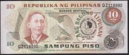 Philipphines 10 Piso 1981 PUNC - Filippine