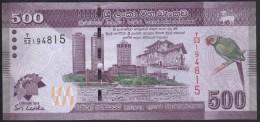 Sri Lanka 500 Rupees 2013 P129 Commemorative UNC - Sri Lanka