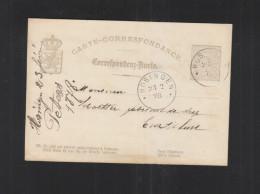 Luxemburg GSK Hosingen 1878 - Ganzsachen