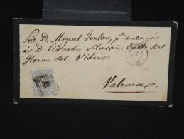 ESPAGNE - Enveloppe Pour Valence Période 1870/72 - à Voir - Lot P9220 - Cartas