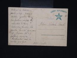 ESPERANTO - Carte Des Pays Bas En Espéranto - à Voir - Lot P9226 - Esperanto