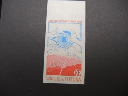 WALLIS & FUTUNA - Essai De Couleur N D - Luxe - Lot N° 9307 - Imperforates, Proofs & Errors