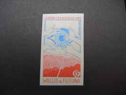 WALLIS & FUTUNA - Essai De Couleur N D - Luxe - Lot N° 9309 - Imperforates, Proofs & Errors