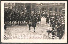 CPA Wien, X. Dt. Sängerbundesfest 1928, Reiter Im Festzug - Holidays & Celebrations