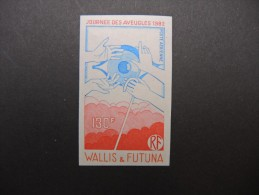 WALLIS & FUTUNA - Essai De Couleur N D - Luxe - Lot N° 9325 - Imperforates, Proofs & Errors