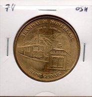 Monnaie De Paris : Saint-Gervais Tramways Du Mont-Blanc - 2005 - Monnaie De Paris