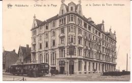 MIDDELKERKE TRAM FELDPOST 1914 L'HOTEL DE LA PLAGE STAR  1947 Re778m - Middelkerke
